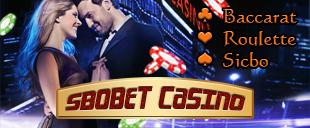 Sbobet Casino ให้บริการพนันคาสิโนออนไลน์ ผ่านเว็บไซต์ sbobet